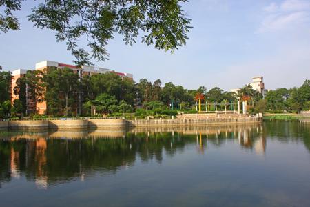 新生攻略之广西大学校园风景